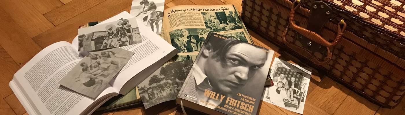 Der Schauspieler Willy Fritsch: auf Reisen, verschiedene Dokumente