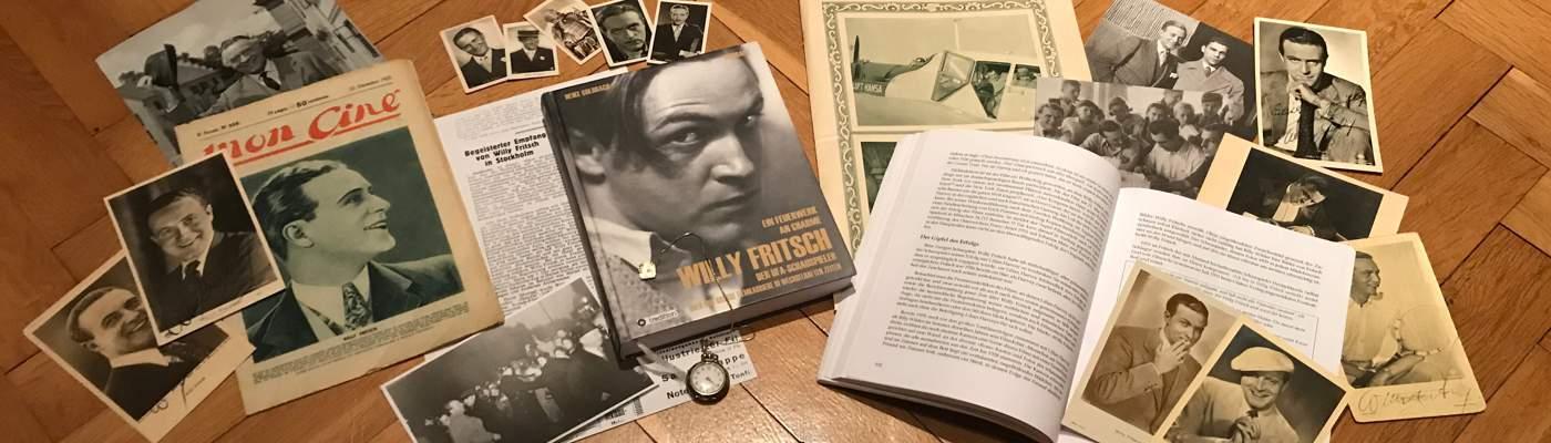 Der Schauspieler Willy Fritsch: der Filmstar, verschiedene Dokumente