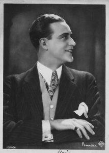 Willy Fritsch als junger Schauspieler 1923