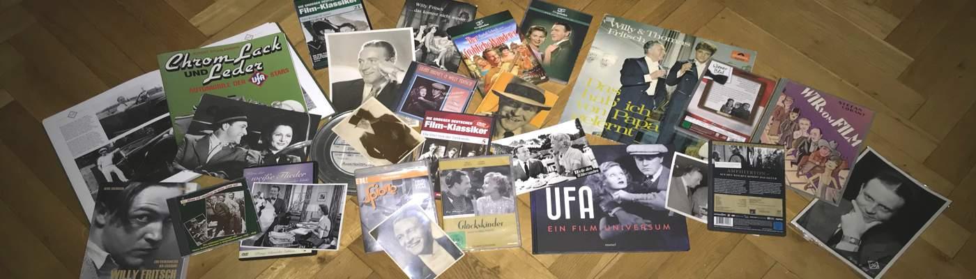 Der Schauspieler Willy Fritsch: Filme, verschiedene Dokumente