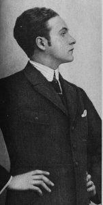 Willy Fritsch als junger Theaterschauspieler