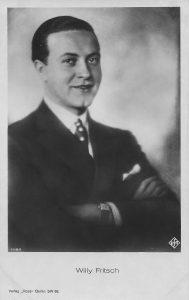 Willy Fritsch - erste Autogrammkarte