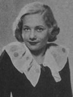 Dinah Grace. Portrait 1934.