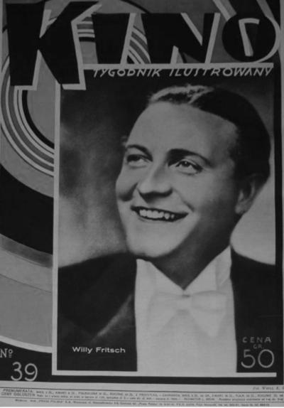 """Cover des polnischen Magazins """"Kino"""", 1930"""