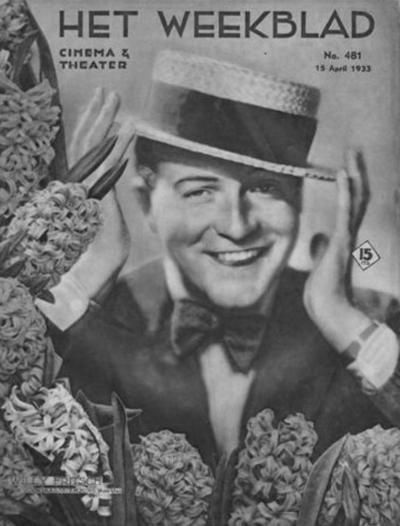 """Cover des niederländischen Magazins """"Het Weekblad"""", 1933"""